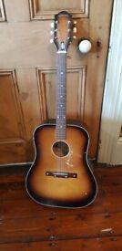 Acoustic Egmond guitar