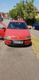 Fiat Punto 1.2, perfect for first car, MOT untill 17.04.19,