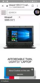 Sold ****Lenovo ideapad 100s laptop