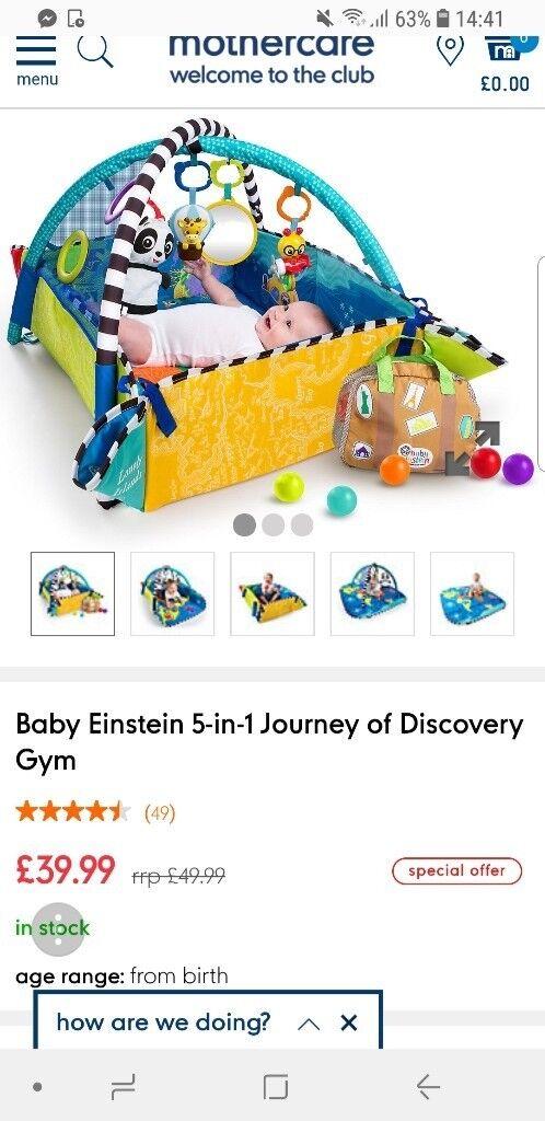 san francisco 16350 fe229 Mothercare baby einstein - play mat   in Newport   Gumtree
