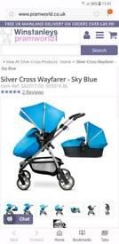 Silver cross buggy