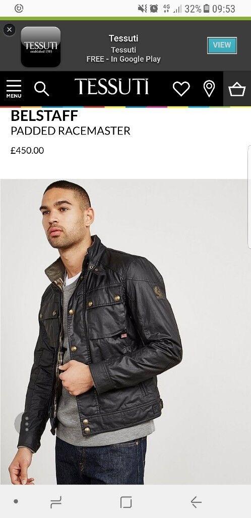Belstaff wax jacket ... as new ...genuine