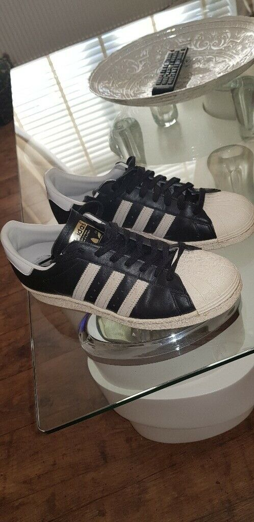 the latest 0d027 95a87 Adidas trainers superstar retro 80s Style size 9 | in Pontypridd, Rhondda  Cynon Taf | Gumtree