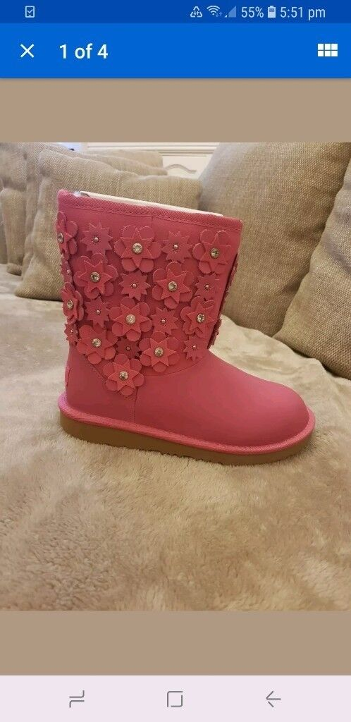68196821d8e release date pink ugg boots size 5 69f24 3efab