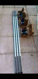 Van roof rack heavy duty steel with fittings
