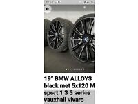 """19"""" Bmw alloy wheels staggered"""