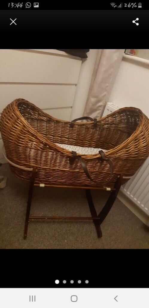acheter populaire 7ed4c 46661 Clair De Lune Moses Basket / Noah Pod | in Whetstone, Leicestershire |  Gumtree