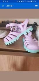 Babies beach shoes