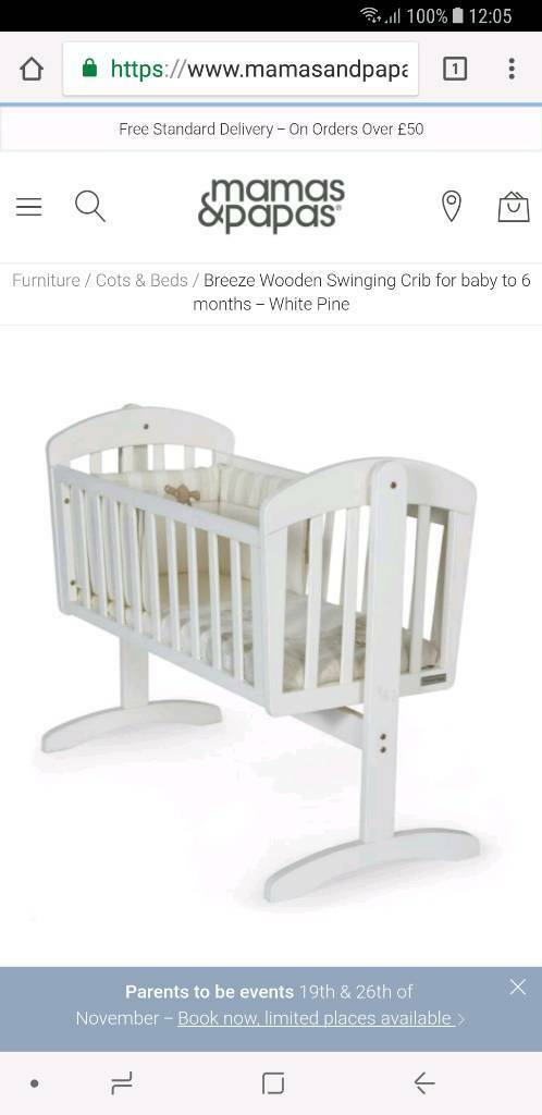 Free swing crib