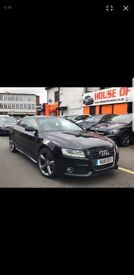 LIMITED BLACK EDITION AUDI A5 S-LINE, 2011, CHEAP ROAD TAX! PERFECT CONDION