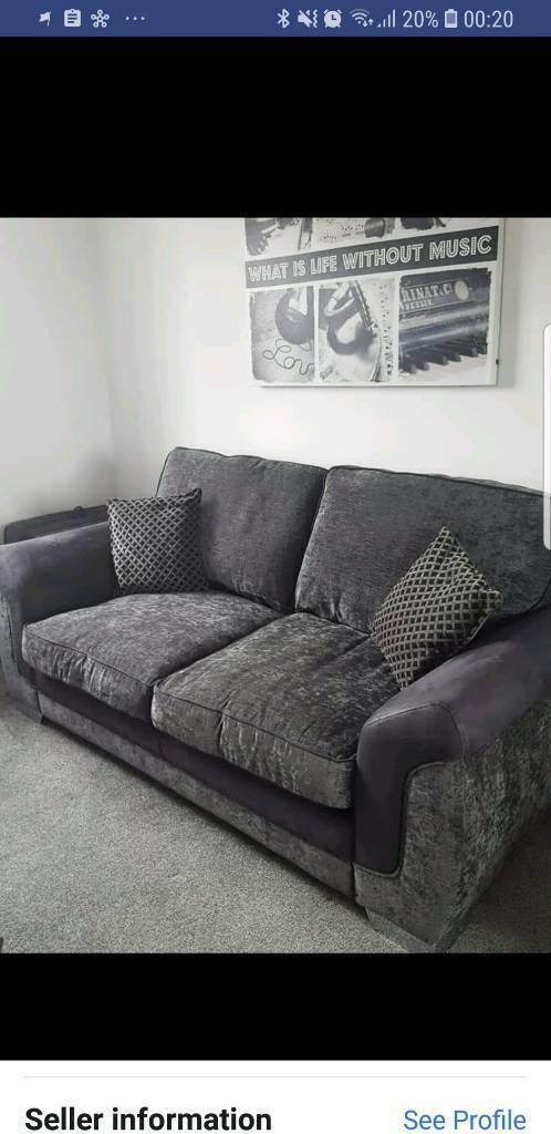 Dfs Grey Black Sofa Bed In Sacriston County Durham Gumtree