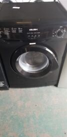 Bush 6kilo washing machine In black just over a year old perfect working order good clean condition