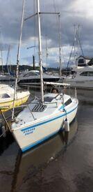 Hunter 21 yacht