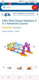 Little Tikes Ocean Explorers 3 in 1 Adventure Course