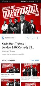 2 x Kevin hart tickets