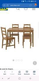 Ikea Jokkmokk dining table only