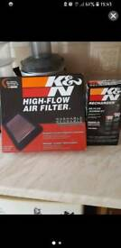 K&N filter plus cleaning set