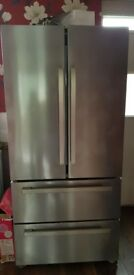 Beko amercian fridge freezer