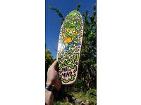 "Custom hand painted skateboard - 22"" Cruiser - The Simpsons"