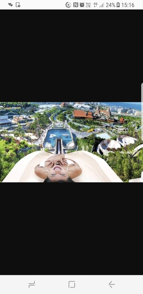 All inclusive holiday to tenerife