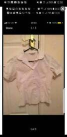 White shirt new look size 10