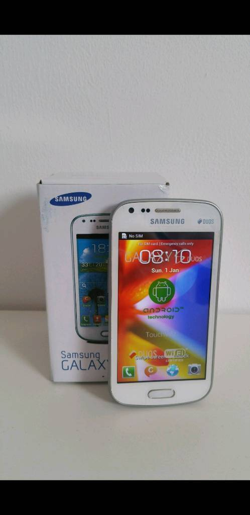 Unlocked Samsung S7562 Galaxy S Duos Dual SIM Card Android 4.0 WIFI GPS Boxed!