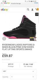 Womens Ryderwear raptor training hightops