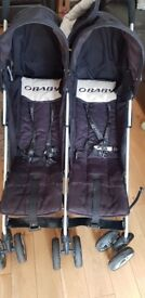 Used Obaby Double Pushchair