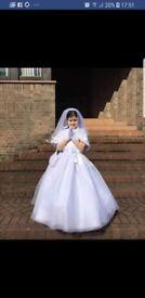 Stunning First holy communion dress