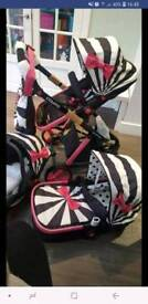 Cosatto travel System. less than a year old