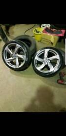 """18"""" alloys individually for replacement"""
