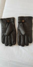 Gloves Leather Size Large