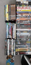 Over 120 DVDs for sale