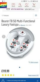 Beurer Foot Spa. FB50 Model. Top of the range. Excellent condition.