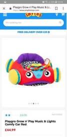 Baby car cushion toy