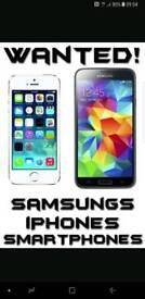 WANTED Samsung Galaxy phones & tablets