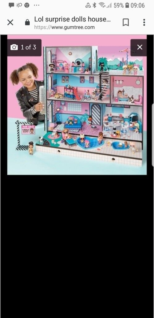 Lol Doll House In Airdrie North Lanarkshire Gumtree