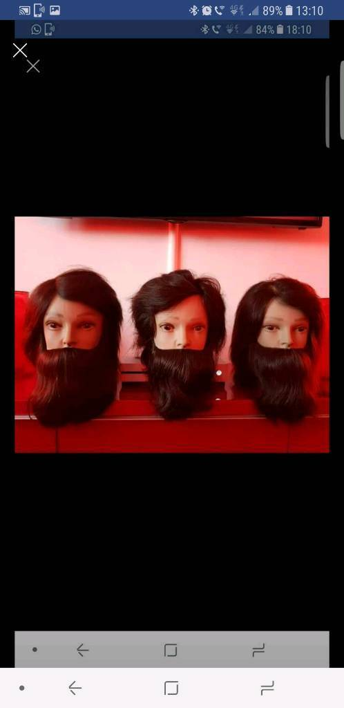 X3 New Barbering/Hairdressing Test Heads