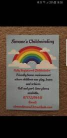 Registered Childminder Carrick Knowe/Corstorphine