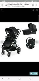 Cybex pushchair and extras