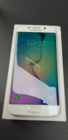Samsung Galaxy S6 Edge WHITE SM-G925F 32 GB NEVER LOCKED-SimFree-LIKE NEW-NO SCRACHES-IMPECABLE