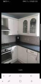 Hygena white gloss kitchen doors