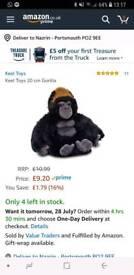 Gorilla Keel Toy