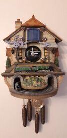 Flying scotsman wall hanging clock - Bradford limited edition