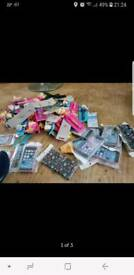 Job lot iPhone cases and children's pens