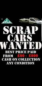 We scrap cars for quick instant cash