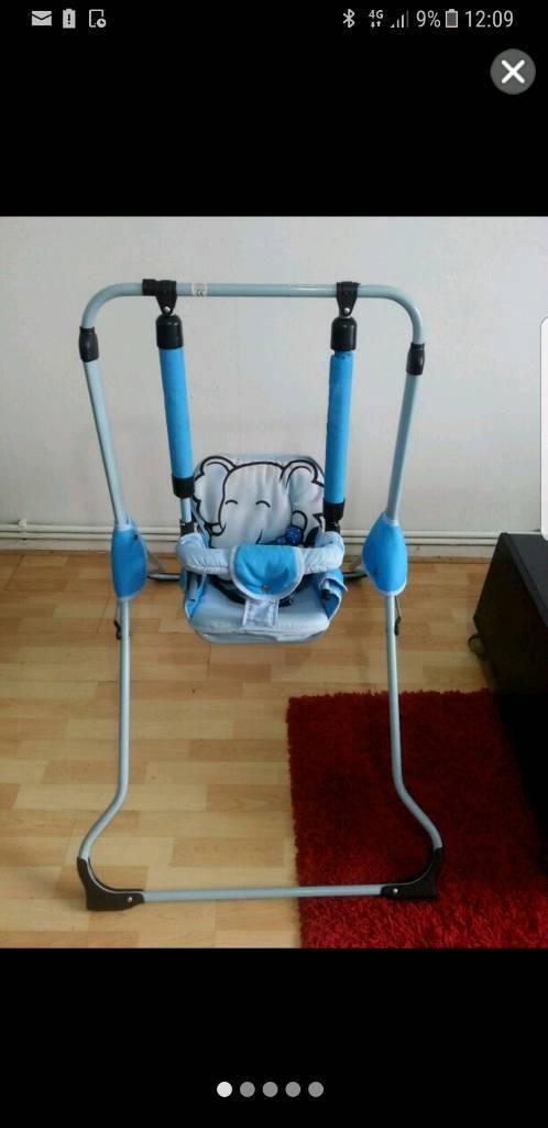 Indoor foldable swing