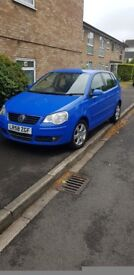 Volkswagen polo (blue) 1.4. Great condition!!