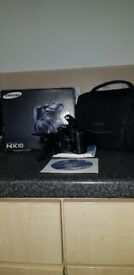 Samsung nx10 SLR camera 14.6mp
