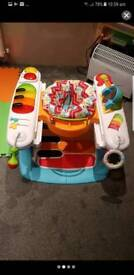 Fisher price piano walker and play mat